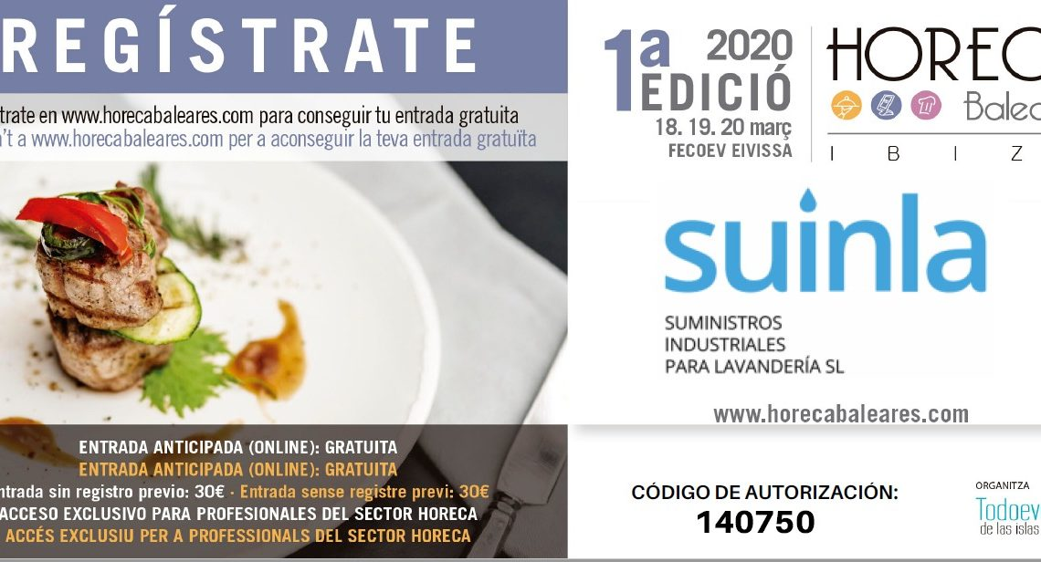 Feria HORECA Ibiza 2020